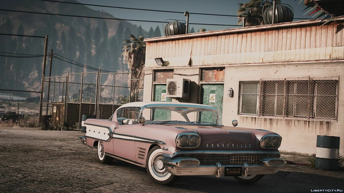 Pontiac car 1958 Pontiac Bonneville [Add-On | extras] 1.0 for GTA 5