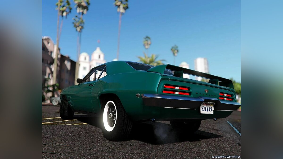Pontiac car 1969 Pontiac Firebird Trans [Add-On] 1.0 for GTA 5