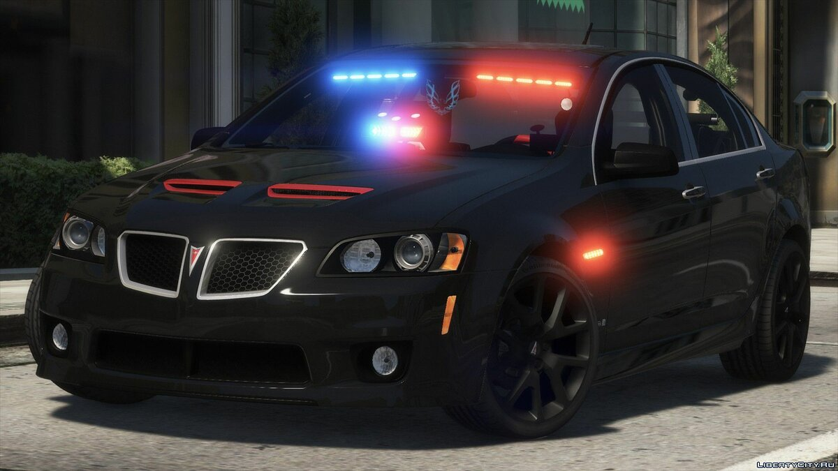 Pontiac car Pontiac G8 GXP2009 for GTA 5