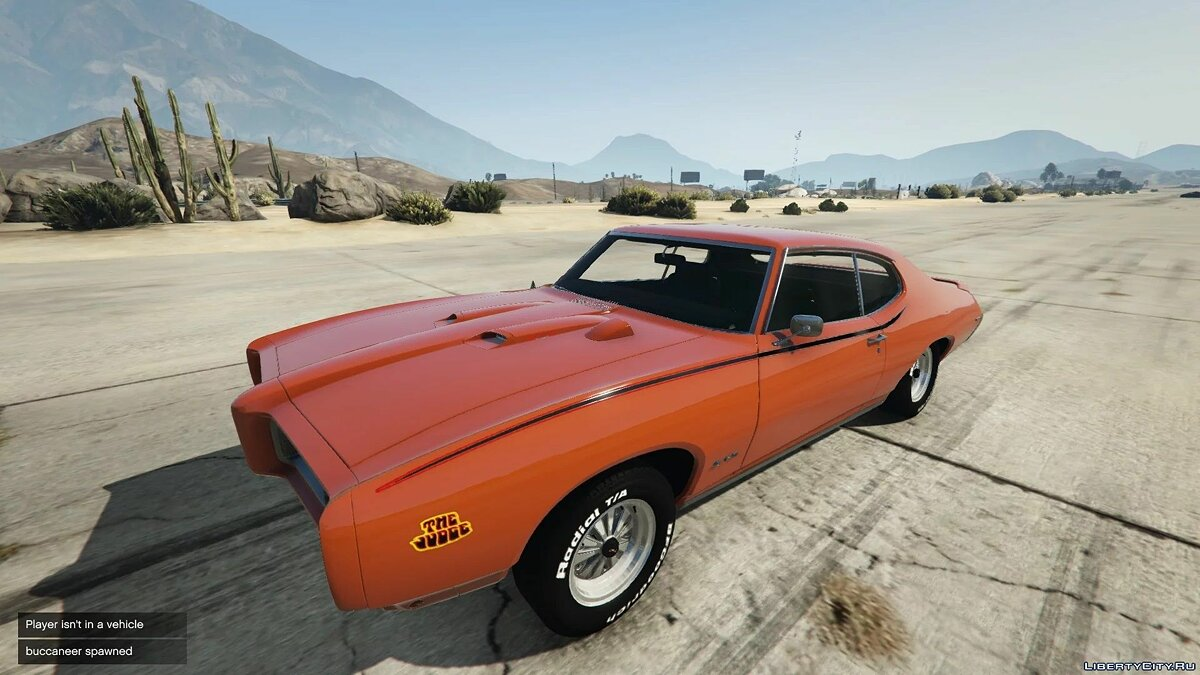 Pontiac car '69 Pontiac GTO Judge [REPLACE / ADDON] 1.0 for GTA 5