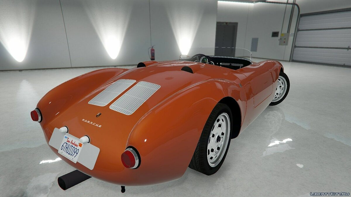 Porsche car 1956 Porsche 550A Spyder for GTA 5