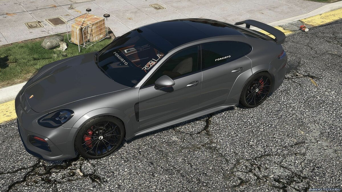 Porsche car Porsche Panamera Techart [Add-on] for GTA 5