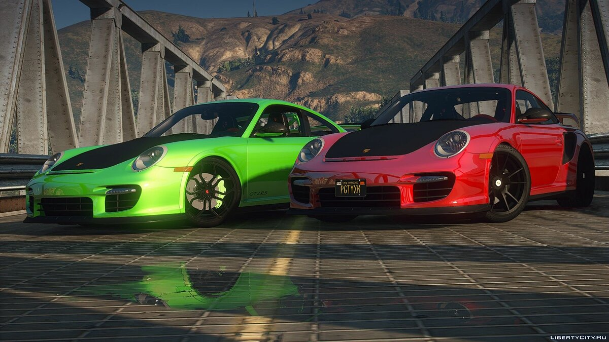 Porsche car Porsche 911 GT2RS 2012 [Add-On | Animations] 1.0 for GTA 5