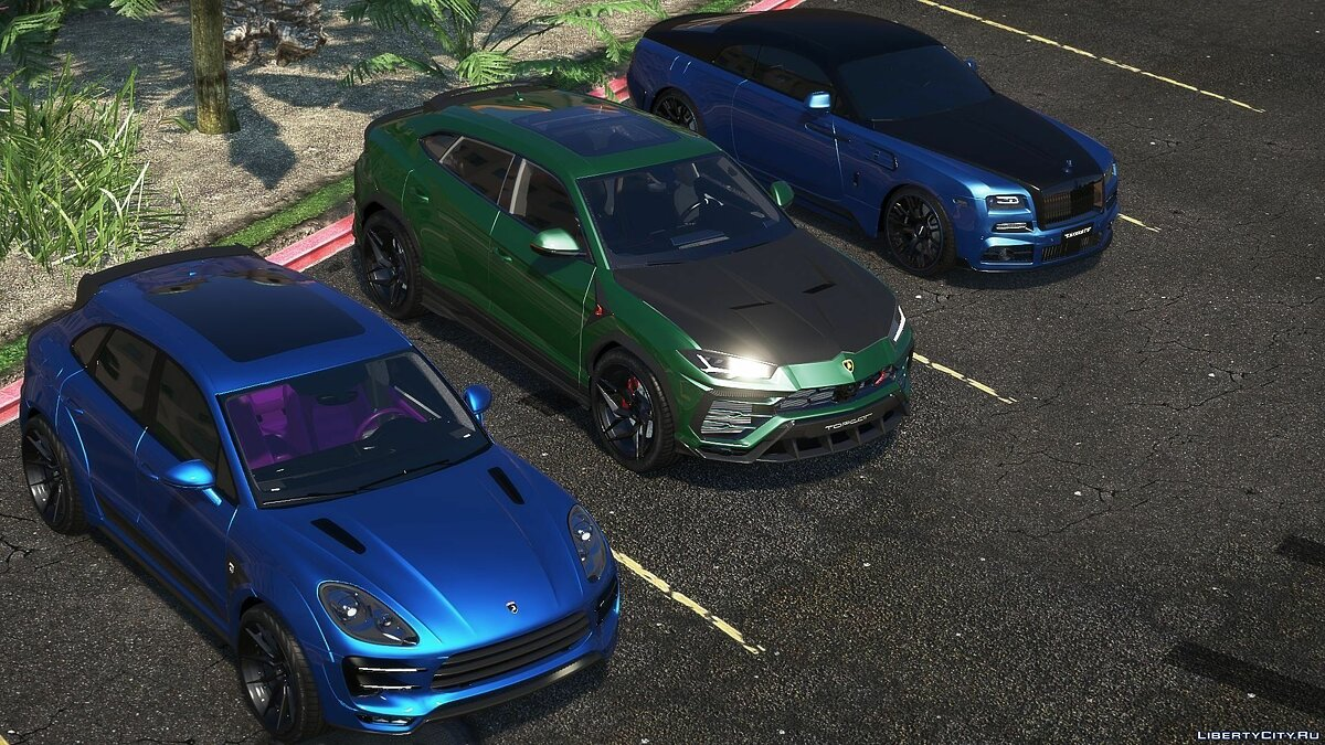 Porsche car Porsche Macan Topcar for GTA 5