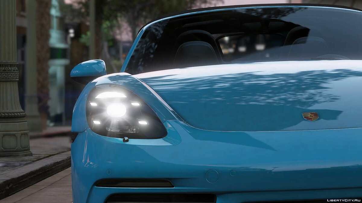 Porsche car 2017 Porsche 718 Boxster S [ADD-ON] 1.0 for GTA 5
