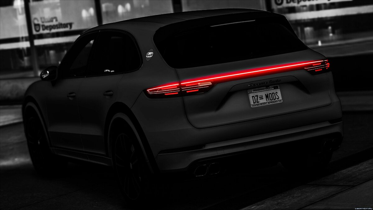 Porsche car Porsche Cayenne Turbo 2018 [Add-On] 1.0 for GTA 5
