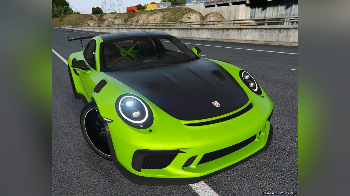 Porsche car 2019 Porsche 911 GT3 RS [Add-On] 1.1 for GTA 5
