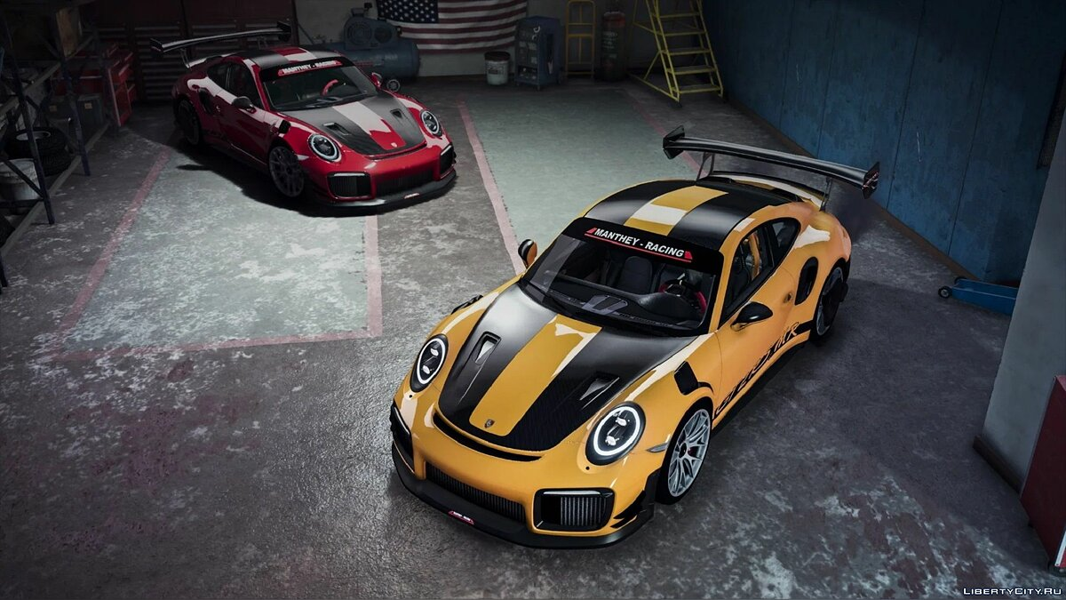 Porsche car Porsche 911 GT2 RS MR [Add-On | Tuning] 1.0 for GTA 5