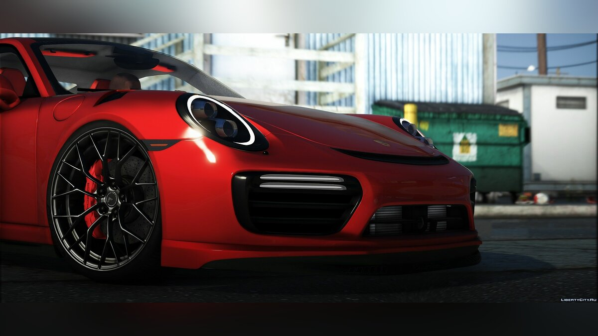 Porsche car Porsche Turbo S Moshammer 2015 for GTA 5