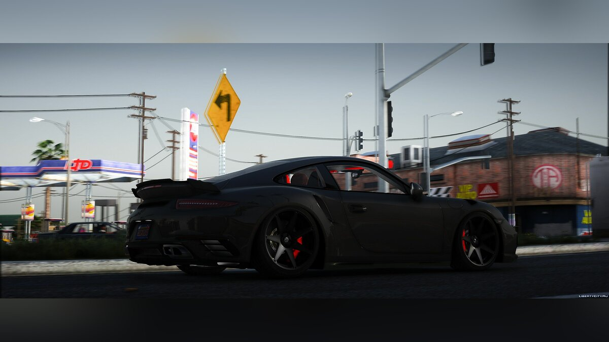 Porsche car The Porsche Turbo S for GTA 5