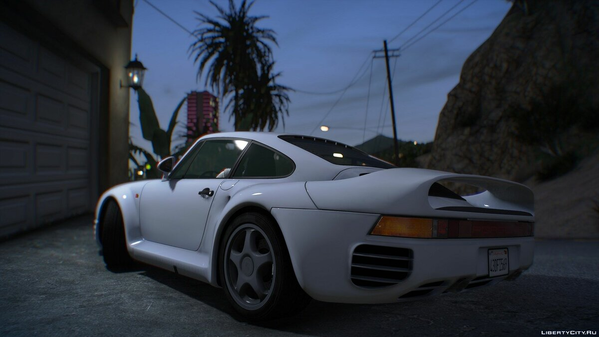 Porsche car 1987 Porsche 959 [Add-On | LODs] 1.0a for GTA 5