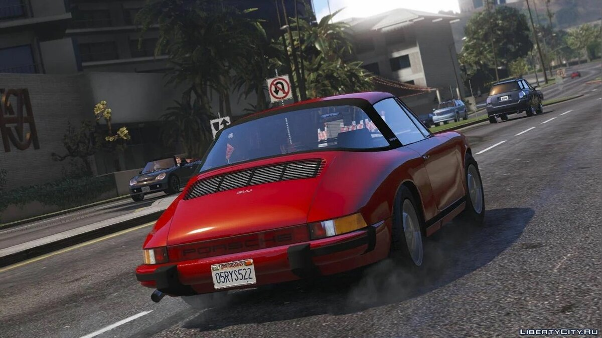 Porsche car Porsche 911 Carrera4 Targa 964 [Add-On / Replace] 1.0 for GTA 5