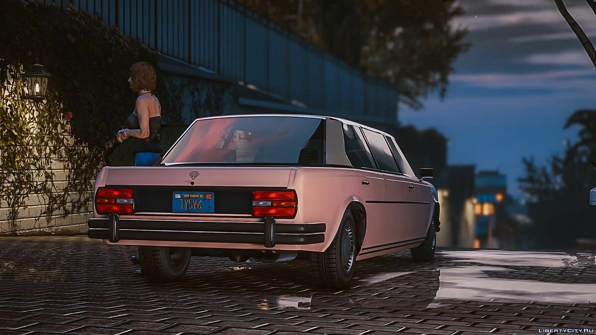 Cars Benefactor Glendale Stretch [Add-On] 1.0 for GTA 5