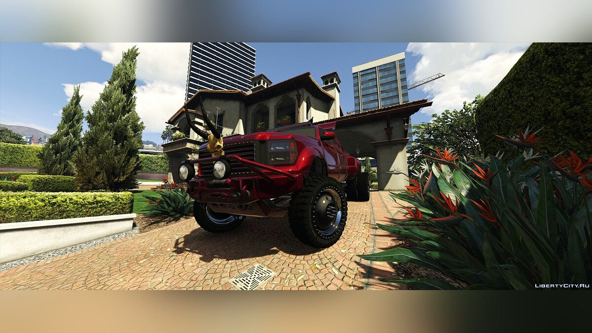 Cars Vapid Sandking XL Dually [Addon | Extras] 1.0 for GTA 5