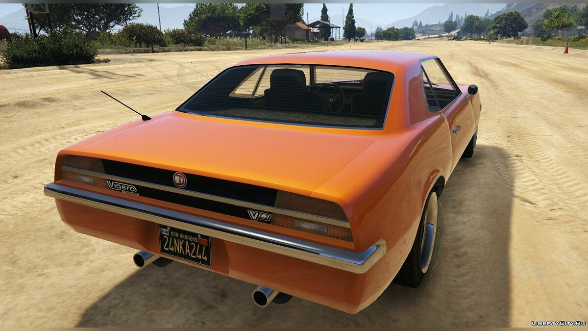Cars New Vigero 1.1 for GTA 5