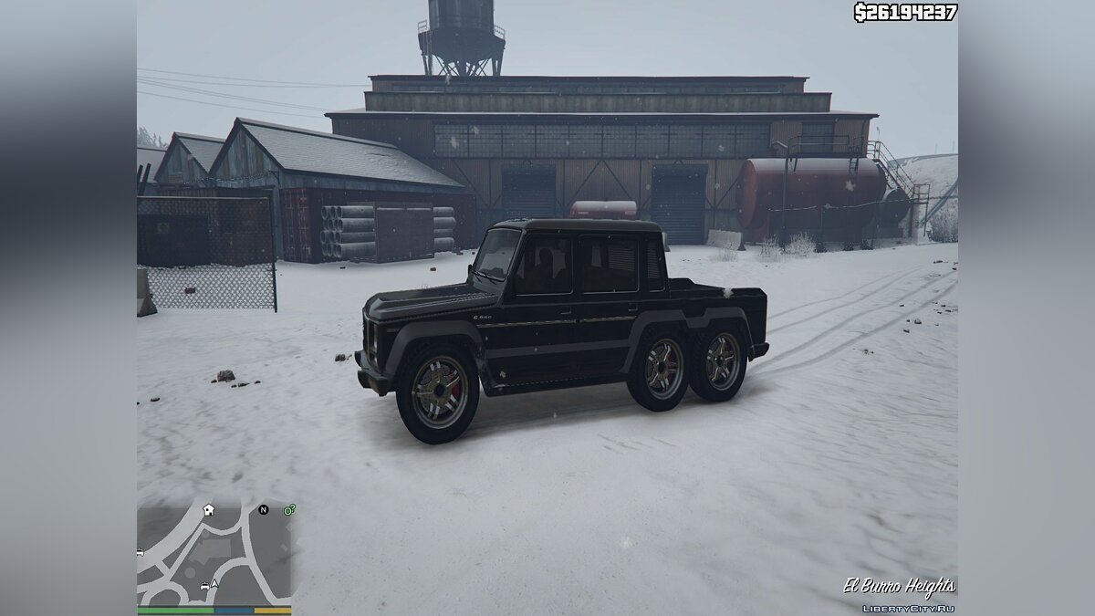 Cars Benefactor Dubsta 6x6 Street Edition [Tuning] 1.0 for GTA 5