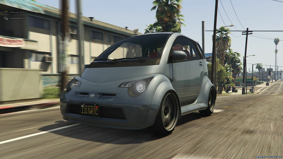 Cars Benefactor Panto Custom 1.0 for GTA 5