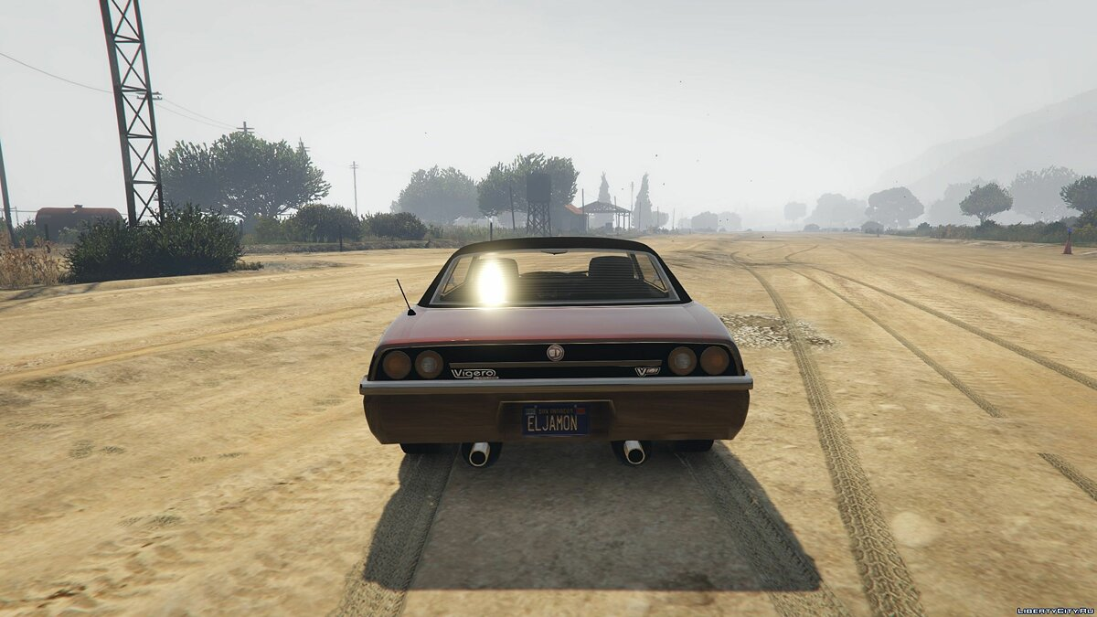 Cars Vigero Custom 1.0 for GTA 5