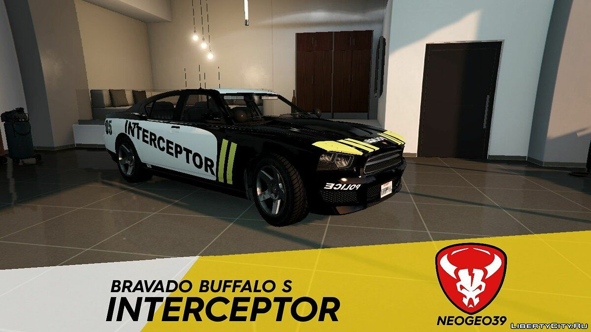 Cars Bravado Buffalo S Interceptor (The Crew 2) for GTA 5