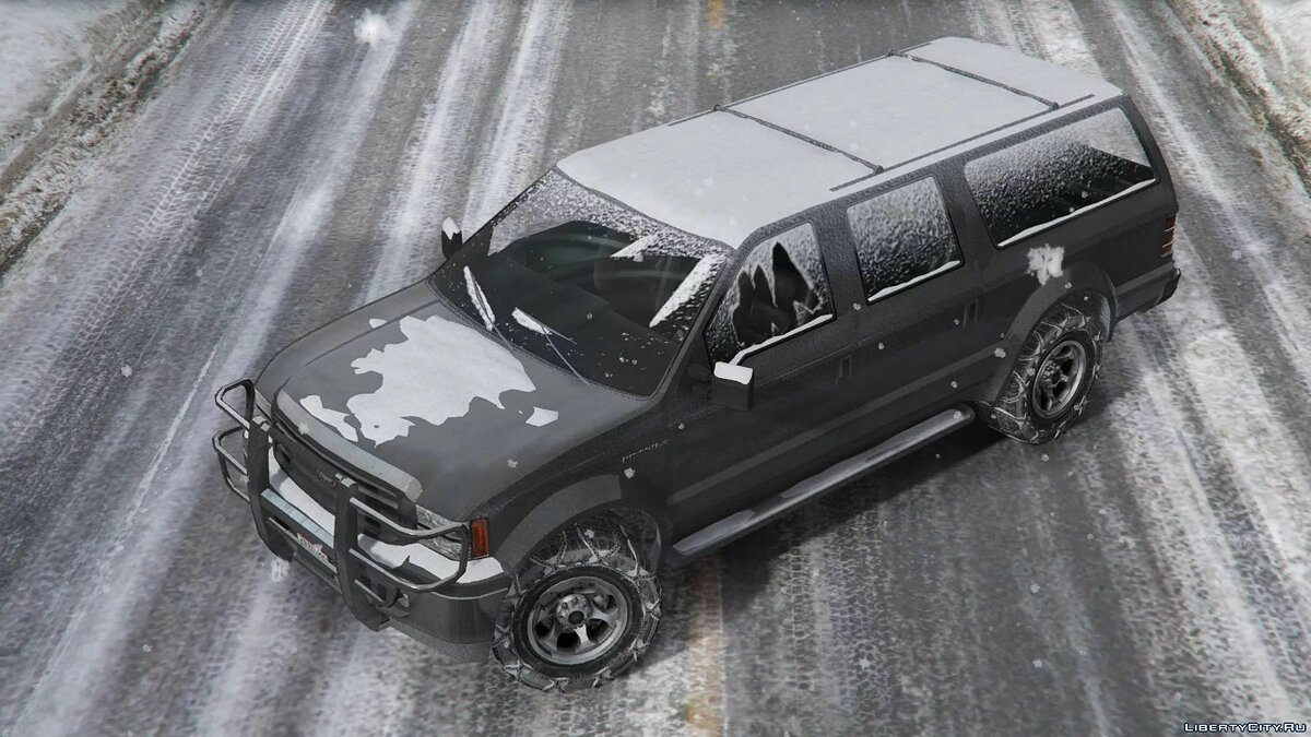 Cars Winter version of Vapid Executioner for GTA 5