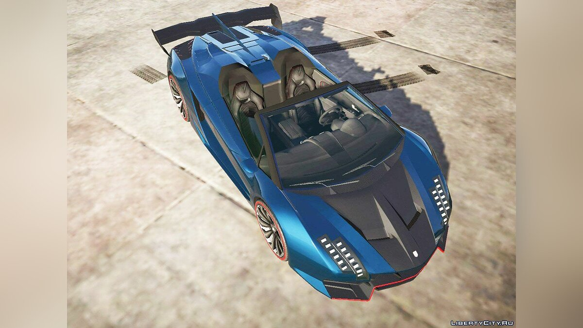 Cars Pegassi Zentorno Roadster [Add-On] 0.095 for GTA 5