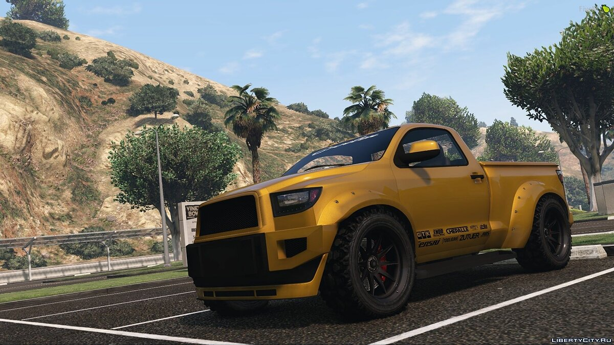 Cars Vapid Contender Custom for GTA 5