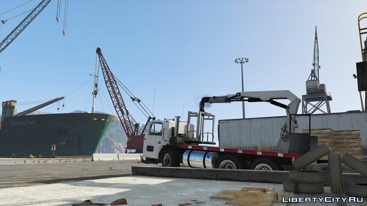 Cars Jobuilt Haulmaster Flatbed [Add-On / Replace] for GTA 5