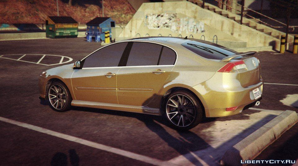 renault laguna iii 1 add on replace extras tuning 1 1 for gta 5. Black Bedroom Furniture Sets. Home Design Ideas