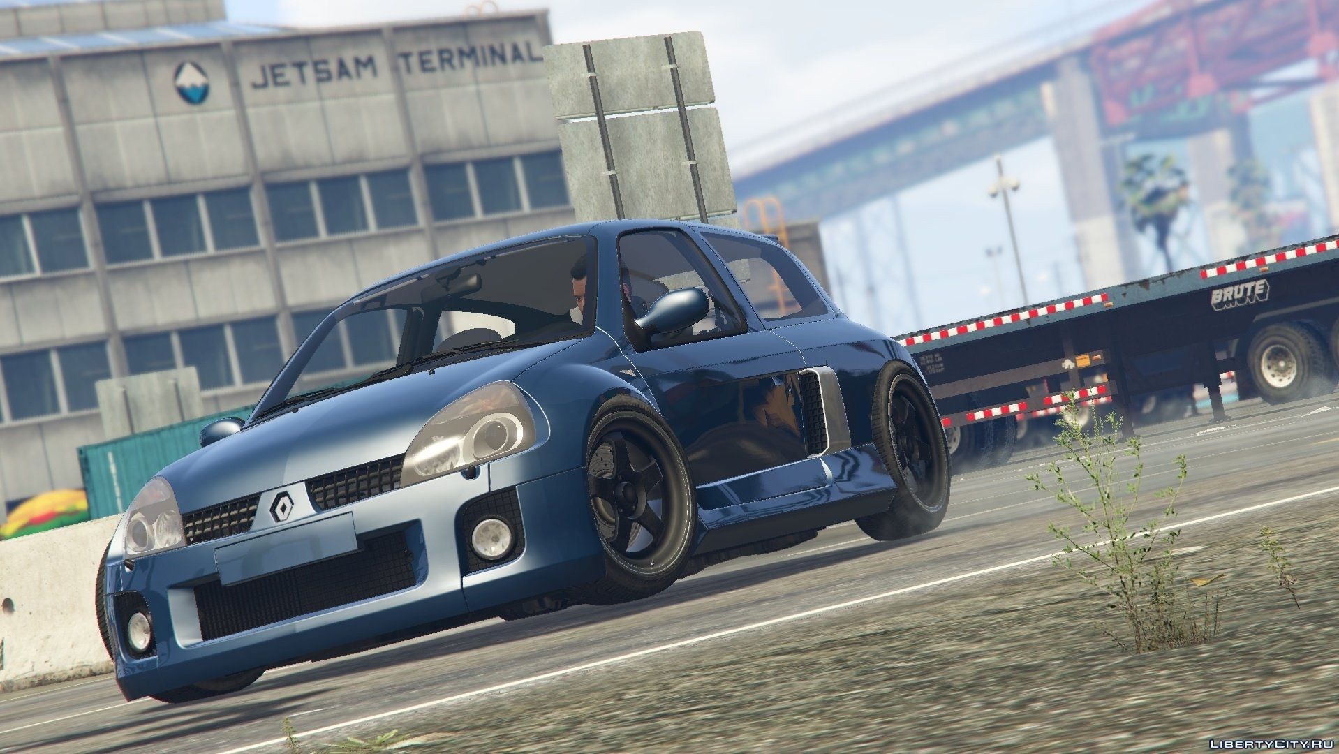 2003 Renault Clio V6 (Phase 2) [Tuning] for GTA 5
