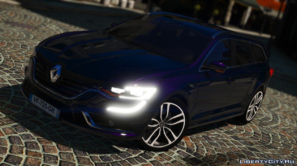Renault Talisman Estate 2016 Add On Replace 10 For Gta 5
