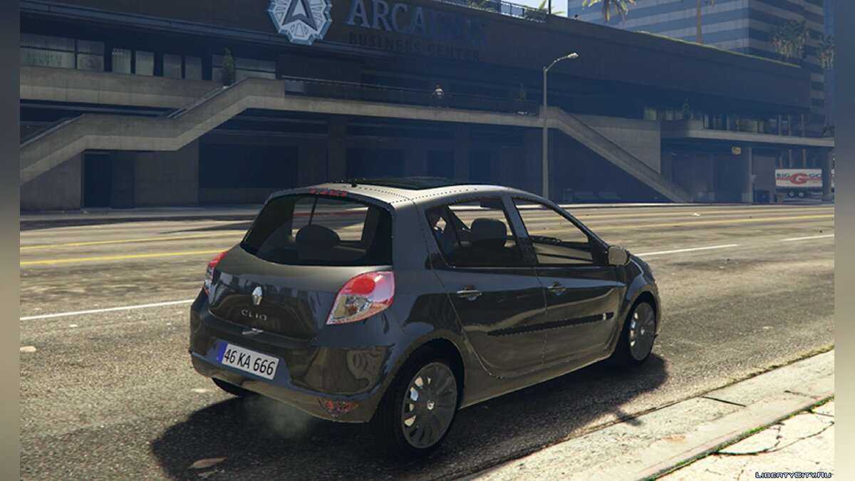 Renault car Renault CLIO 3 2010 [Add-on] FIVEM 1.0 for GTA 5