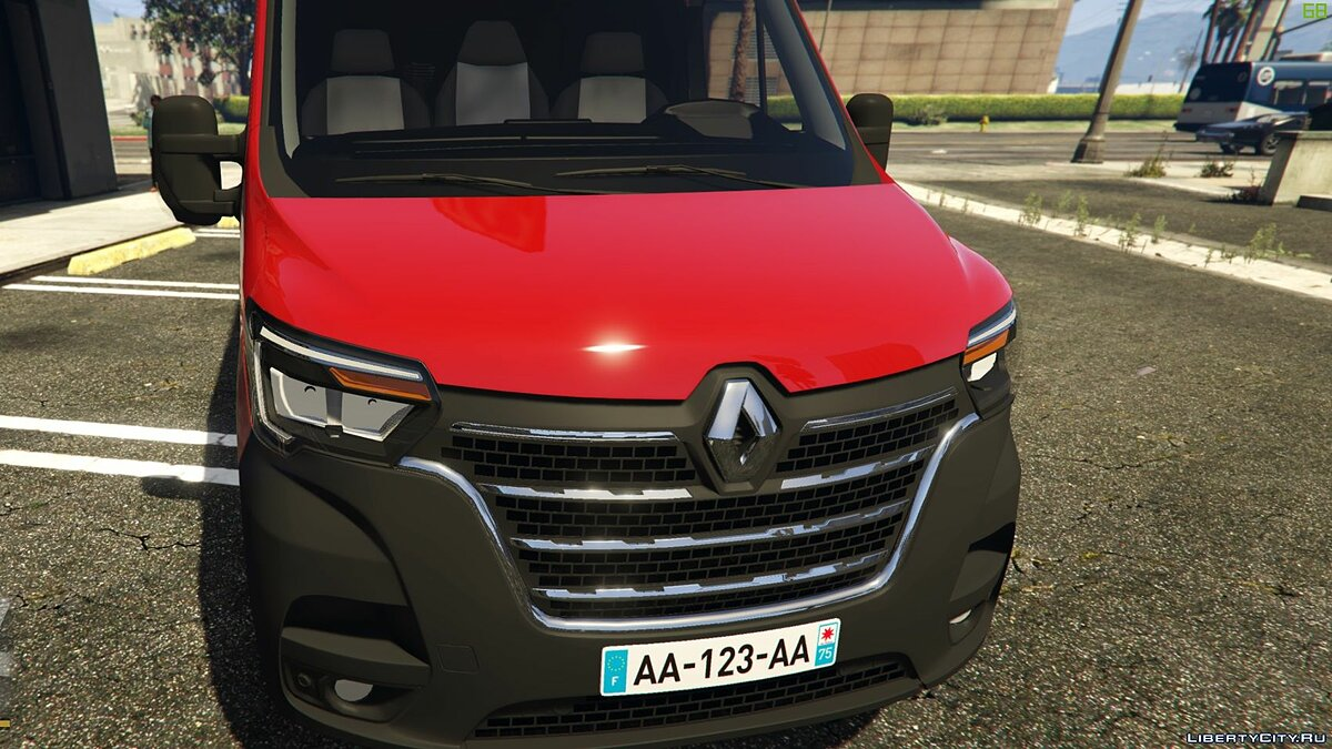 Renault car Renault Master L2H2 2019 [ADD-ON / REPLACE] [UNLOCKED] 1.2 for GTA 5