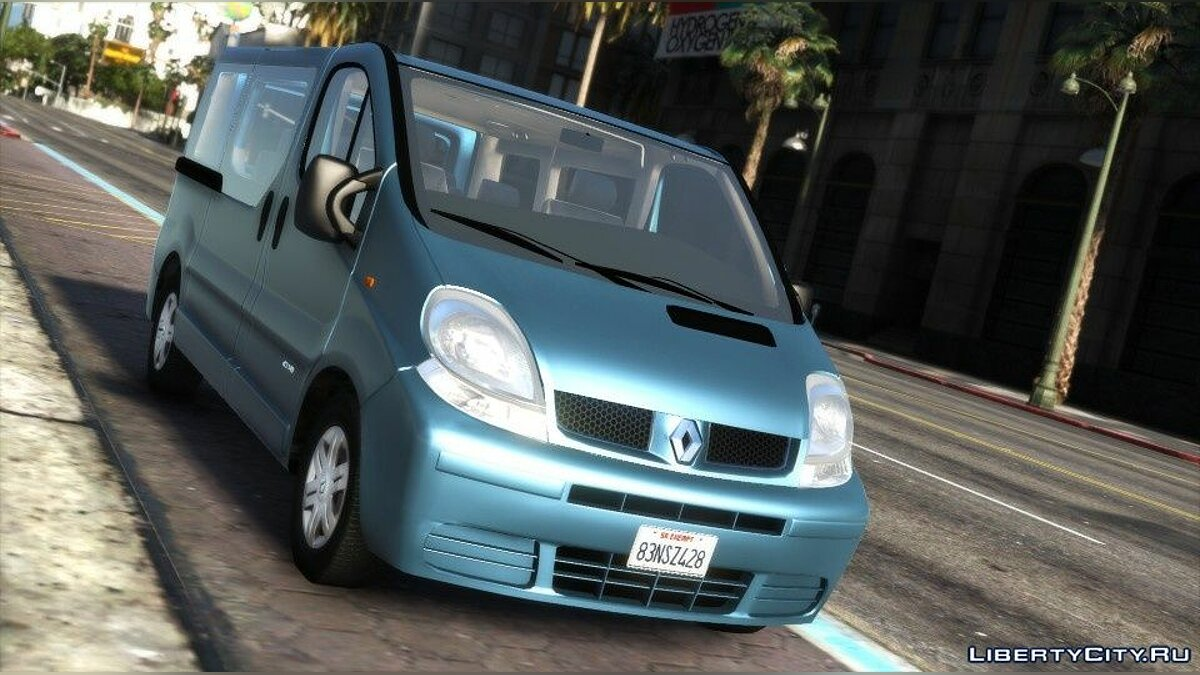 Renault car Renault Trafic II.1 Generation [Add-On | Extras] 1.0 for GTA 5