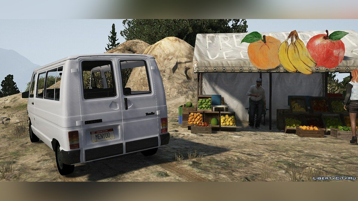 Renault car Renault Trafic T100D [Replace] 1.0 for GTA 5