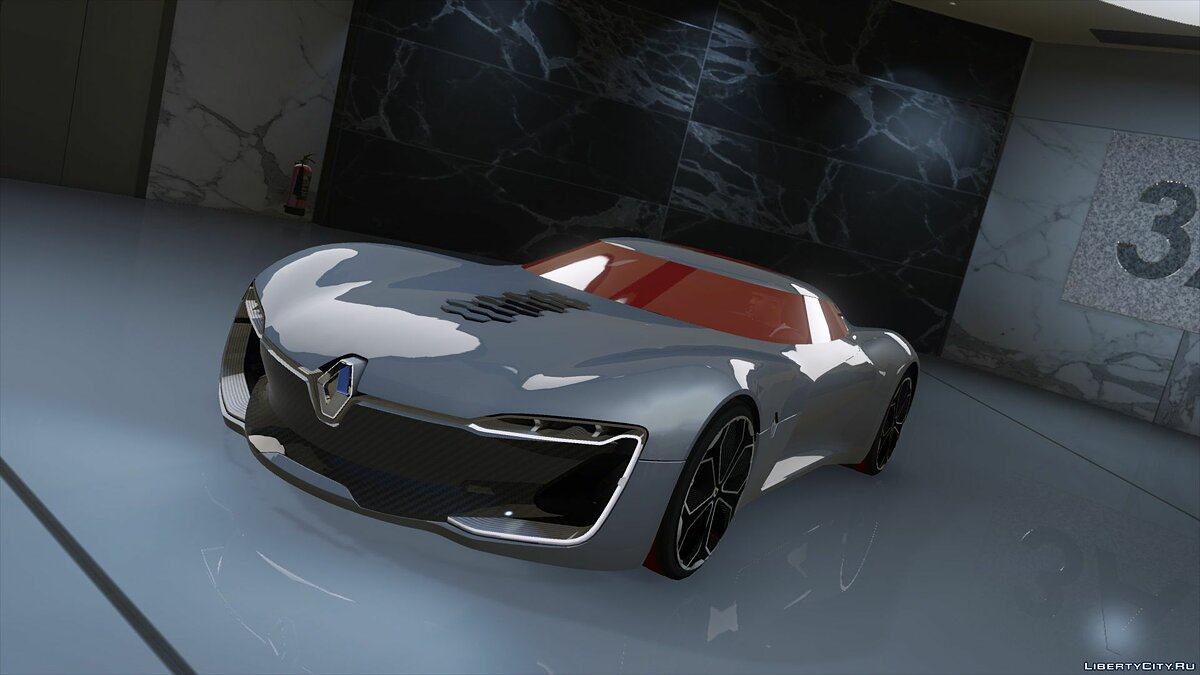 Renault car Renault Trezor (Add-on / Replace) 2.0 for GTA 5