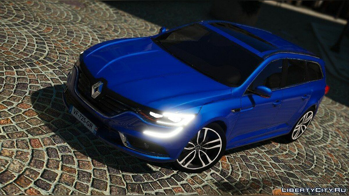 Renault car Renault Talisman Estate 2016 [Add-On / Replace] 1.0 for GTA 5