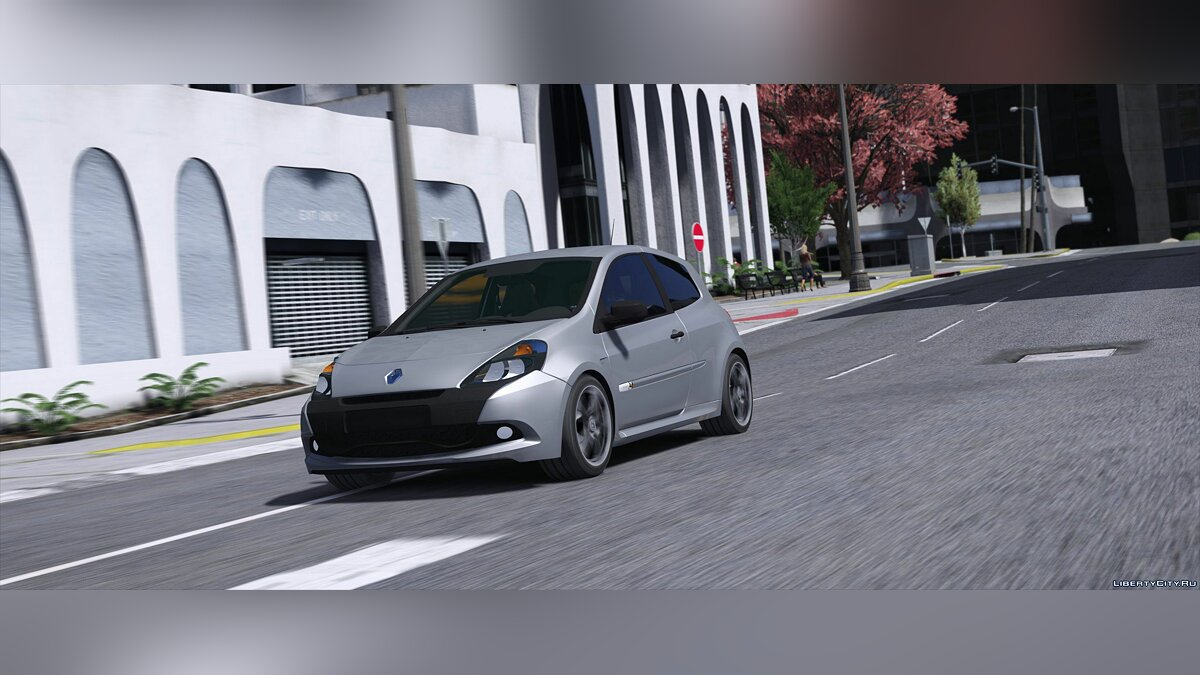 Renault car Renault Clio 3 rs 2010 [Replace] 1.0 for GTA 5