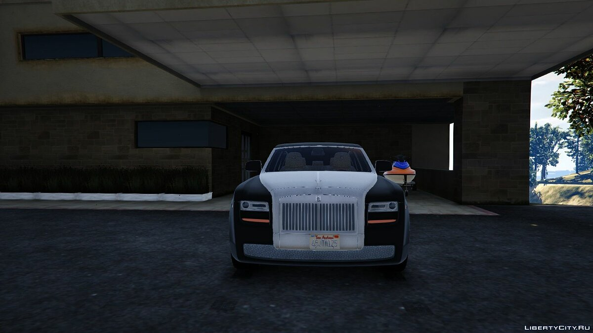 Rolls-Royce car Rolls royce ghost for GTA 5