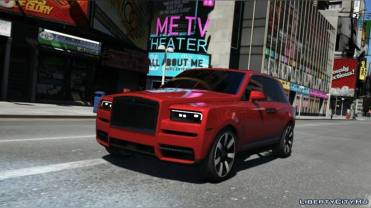 Rolls-Royce car Rolls-Royce Cullinan 2019 [Add-On / Replace] 1.0 for GTA 5