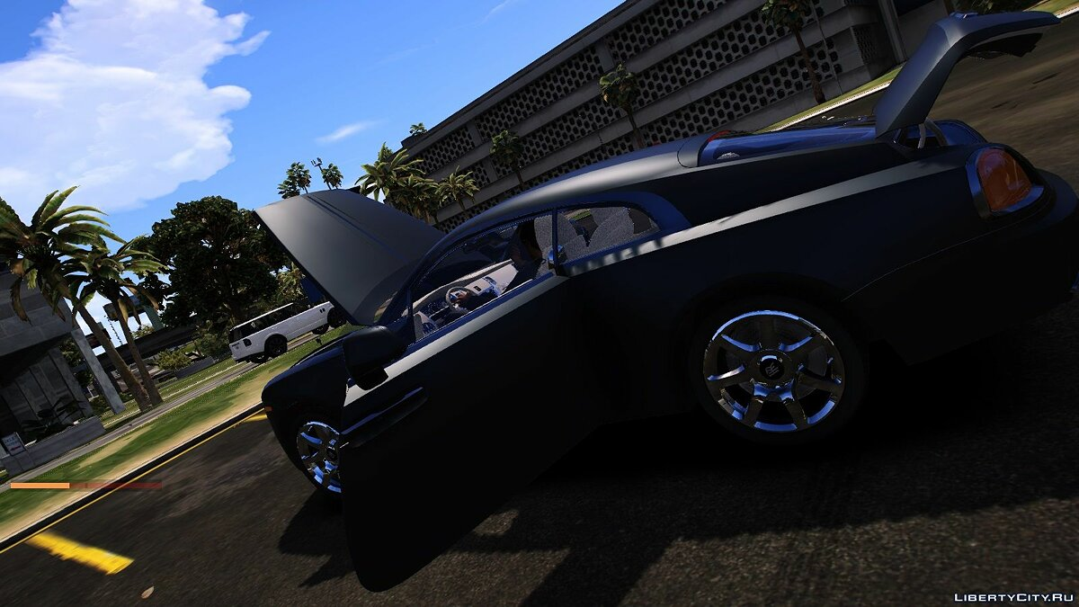 Rolls-Royce car 2017 Rolls Royce Wraith for GTA 5