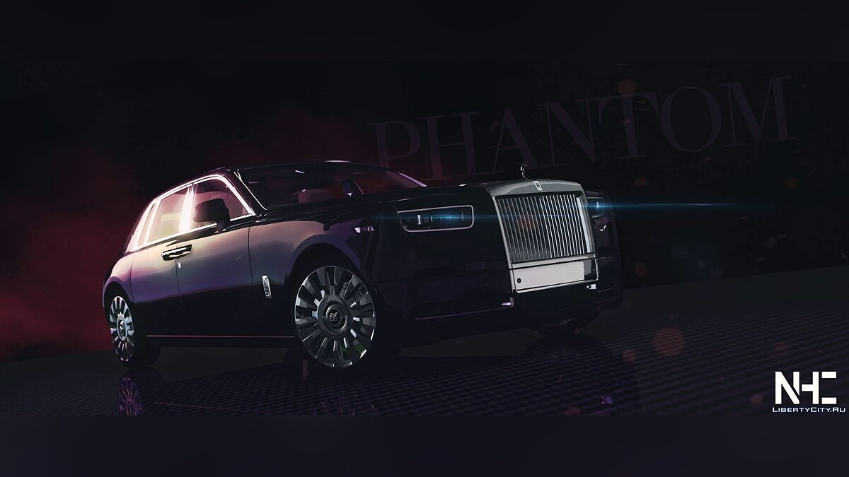 Rolls-Royce car 2018 Rolls-Royce Phantom VIII [Add-On | HQ] 1.0 for GTA 5