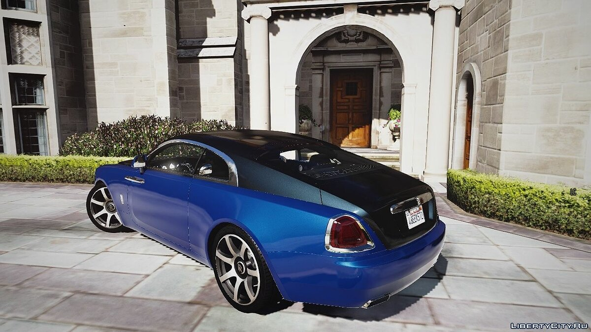 Rolls-Royce car Rolls-Royce Wraith [Add-On / Replace | Animated] 1.1a for GTA 5