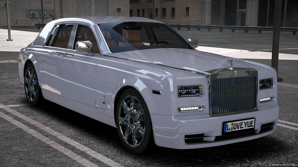 Rolls-Royce car Rolls royce phantom 2014 1.1 for GTA 5