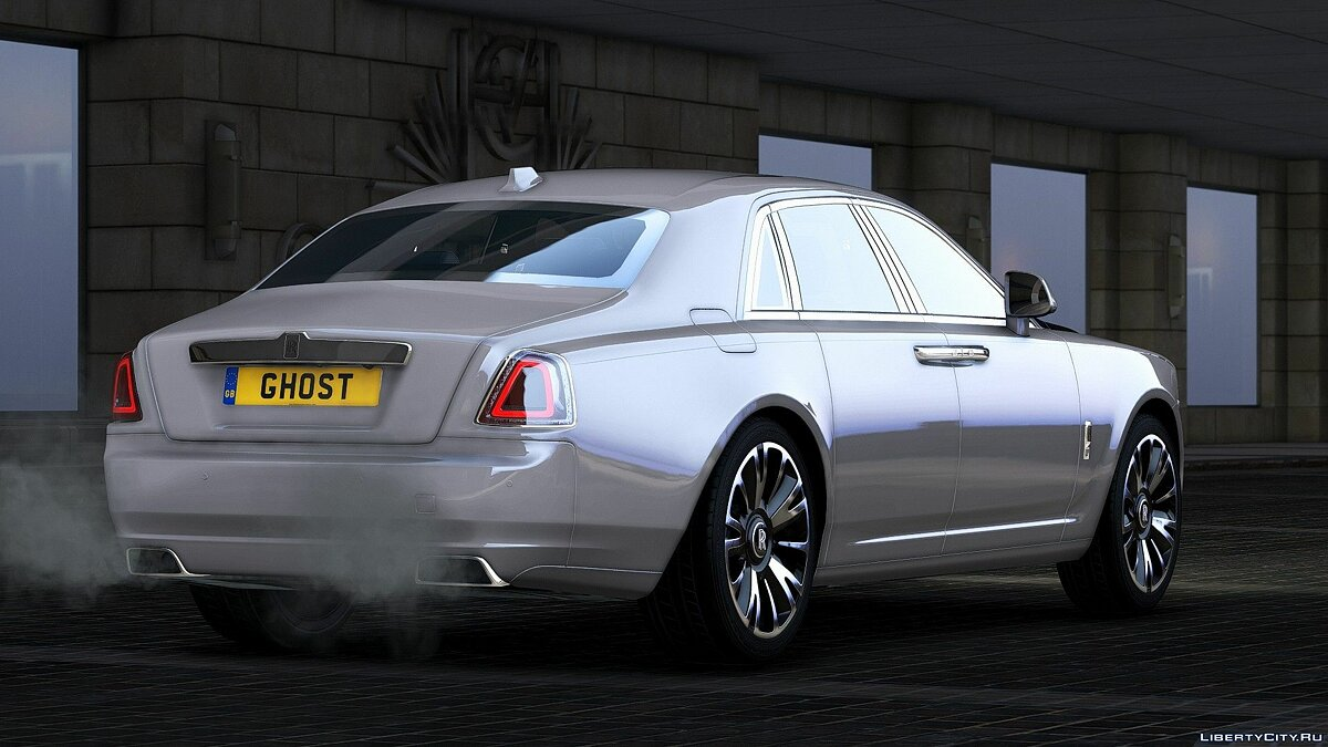 Rolls-Royce car 2018 Rolls-Royce Ghost / EWB [Add-On | RHD] 1.0 for GTA 5