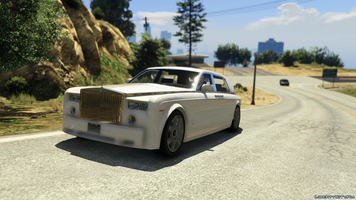 Rolls-Royce car Rolls-Royce Phantom EWB 1.0 for GTA 5