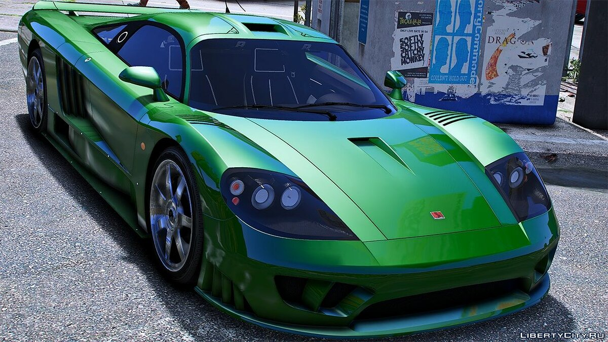 Saleen car 2004 Saleen S7 [Add-On / Replace | LODS | Tuning | Unlocked] 1.0a for GTA 5