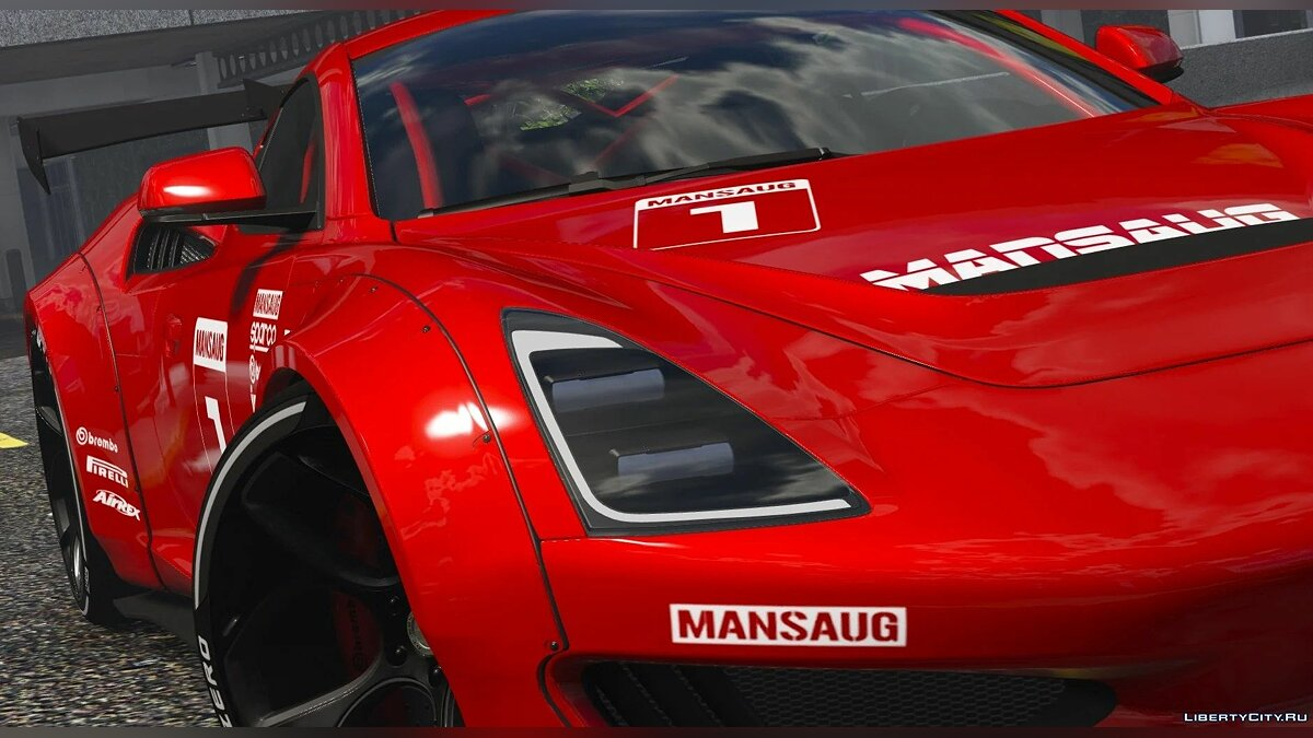 Saleen car Saleen S1 Mansaug [Add-On / Replace | Template] 1.0 for GTA 5