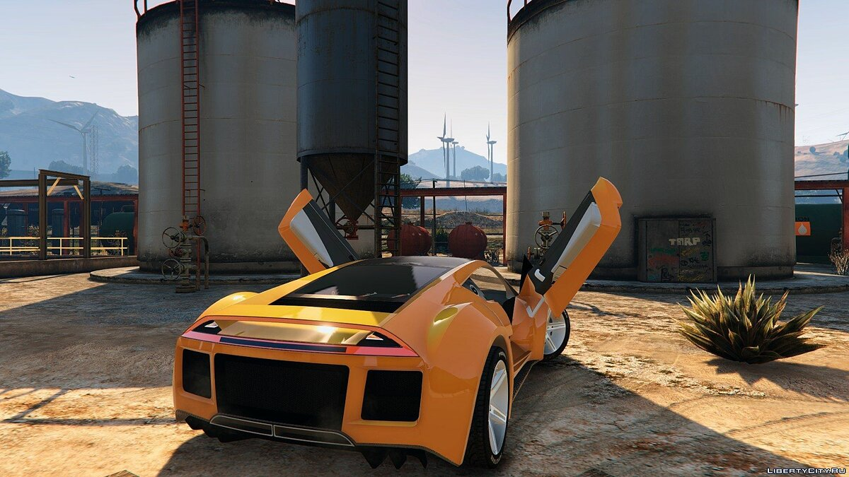 Saleen car Saleen S5S Raptor for GTA 5