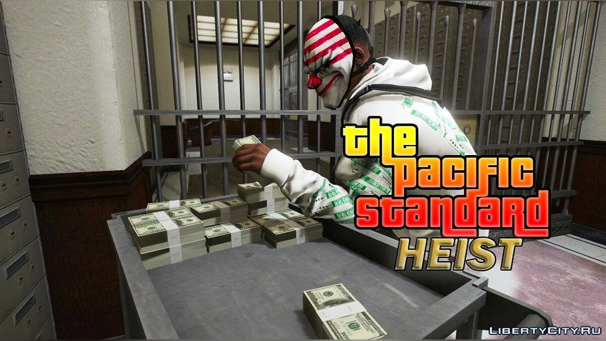 Script mod Pacific Standard Bank robbery for GTA 5