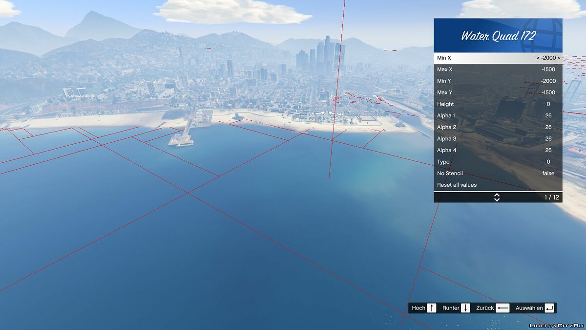 Script mod Ability to change the water level for GTA 5